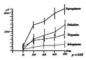 腱板機能の筋電図学的検討  三原ら